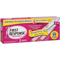 First Response Early Result Home Pregnancy Test - click for full size